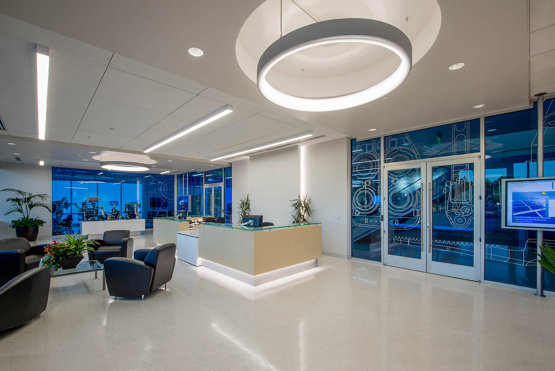 a medical device company intuitive company office photo